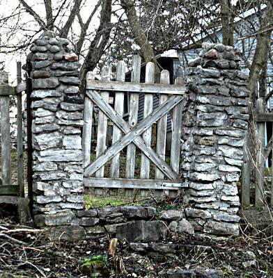 Photograph - Just The Gate by Cyryn Fyrcyd