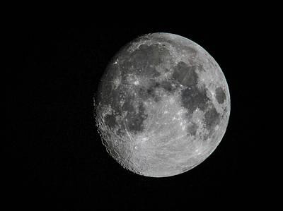 Just The Moon Art Print