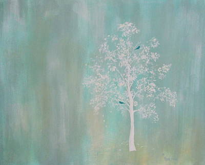 Wall Art - Painting - Just The Two Of Us by Mary Arneson