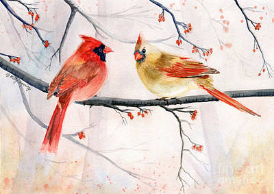 Painting - Just The Two Of Us by Melly Terpening