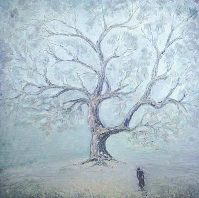 Oneself Painting - Just The Winter Has Come... 1987 by Ivan KRUTOYAROV