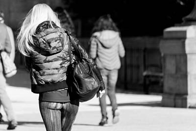 Photograph - Just Walk Away by SR Green