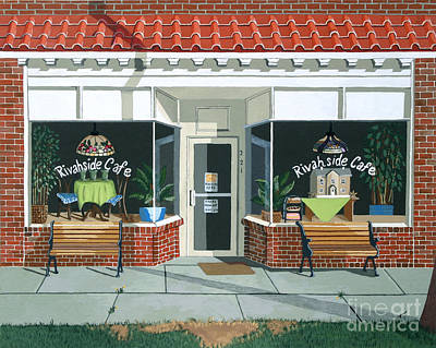 Realistic Painting - Just Walk In by Jennifer  Donald