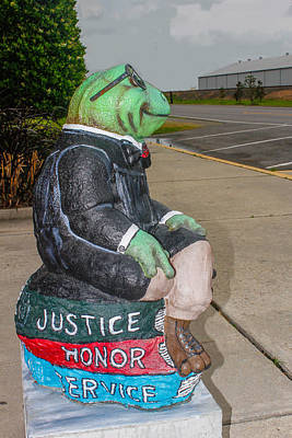 Photograph - Justice Frog by Robert Hebert