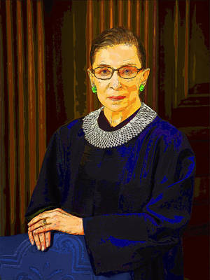 Justice Ginsburg Art Print