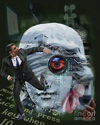 Digital Art - Justice Is Blind by Joseph Juvenal