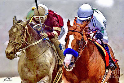 Justify In The Lead Art Print