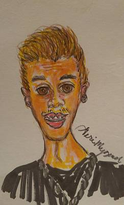 Justin Bieber Art Print