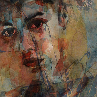 Justin Bieber Print by Paul Lovering
