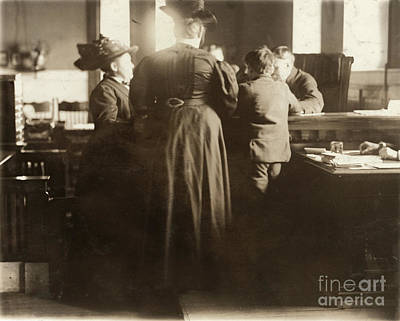 Photograph - Juvenile Court, 1910 by Granger