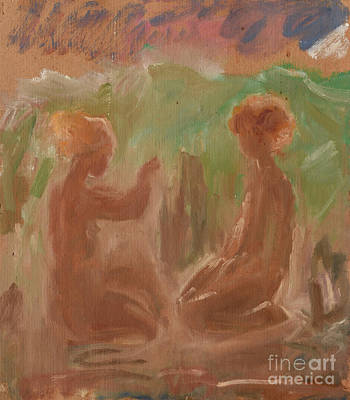 Painting - Juvenility by Oleg Konin