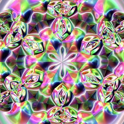 Digital Art - Jyoti Ahau 219 by Robert Thalmeier