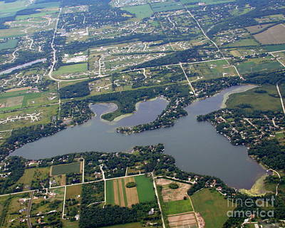 Photograph - K-001 Keesus Lake Wisconsin by Bill Lang