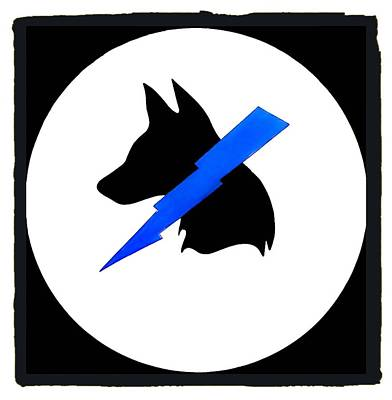 Mwd Painting - K-9 Unit by Barry Knauff