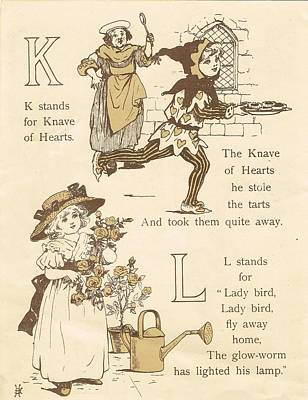 K And L Abc Book Original by Reynold Jay