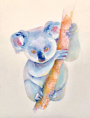 Koala Painting - K Is For Koala by Richelle Siska