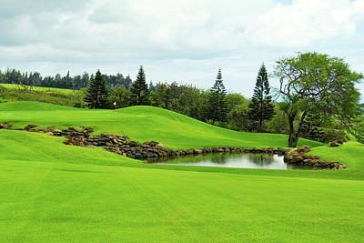 Photograph - K K Golf Club In Maui by Kirsten Giving