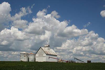 Photograph - K White Farm by Dylan Punke