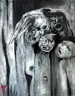Mixed Media - Ka - When The Root Women Speak by Cora Marshall