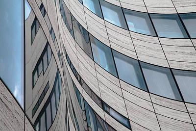 Modern Abstract Photograph - Ka? Windows by Gilbert Claes