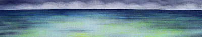 Storm Clouds Painting - Kaaawa by Kevin Smith