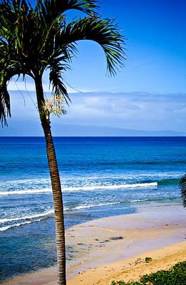 Kaanapali Beach Photograph - Kaanapali Beach Maui by Chris Brannen