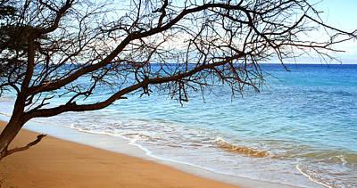 Kaanapali Beach Photograph - Kaanapali Gentle Shore Break by Chris Brannen