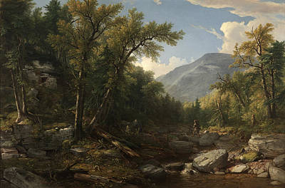 Cloves Painting - Kaaterskill  by Asher Brown