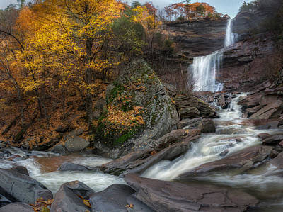 Photograph - Kaaterskill Falls Autumn by Bill Wakeley