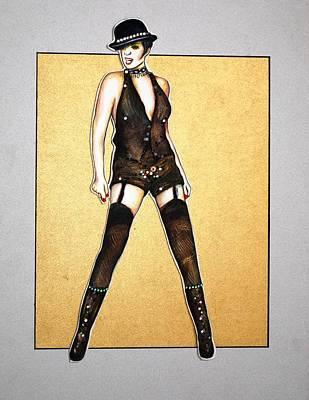 Kabaret Art Print by Joseph Lawrence Vasile