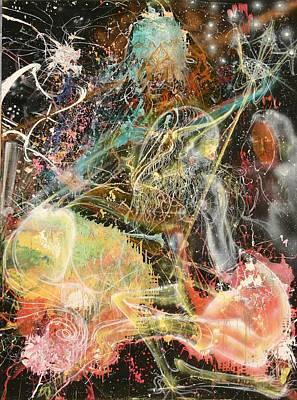 Painting - Kabbalah 2 by Brian c Baker