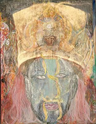 Painting - Kabbalah by Brian c Baker