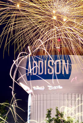 Photograph - Kaboom Town 2015  V3 by Rospotte Photography