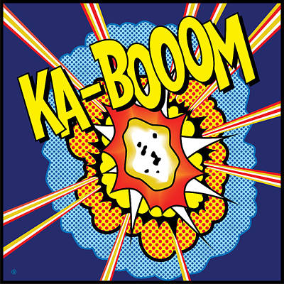 Digital Art - Kabooom by Gary Grayson