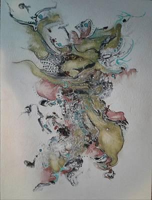 Painting - Kabuki by Pat Purdy