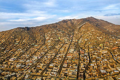 Photograph - Kabul Mountain Homes by SR Green