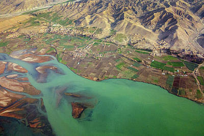 Photograph - Kabul River Flood Plain by SR Green