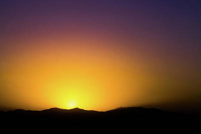 Photograph - Kabul Sunset by Steven Green