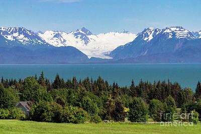 Photograph - Kachemak Bay - Homer Alaska by Louise Magno