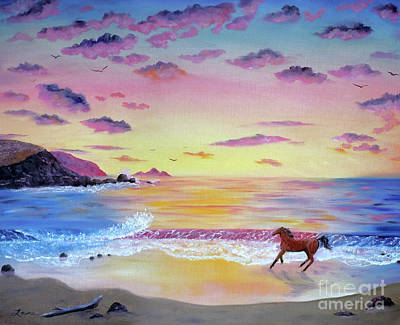 Pacifica Painting - Kachina At Rockaway Beach by Laura Iverson