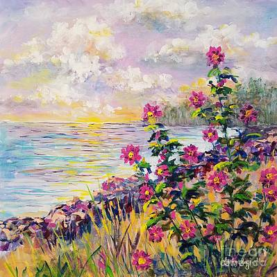 Painting - Kadikoy Seaside by Lou Ann Bagnall
