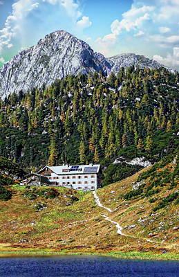 Photograph - Kaerlingerhaus Alpine Hut by Anthony Dezenzio