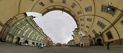 Photograph - Kafka Style. Malostranska Namesti. Prague Spring 2017 by Jouko Lehto