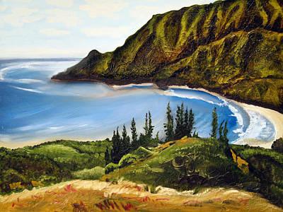 Kahana Painting - Kahana Bay by Matt Harms