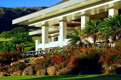 Photograph - Kahili Golf Course Club House In Maui by Kirsten Giving