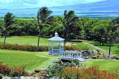 Photograph - Kahili Golf Course Vista by Kirsten Giving
