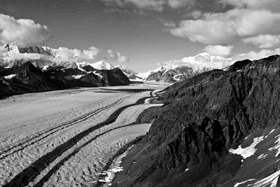 Photograph - Kahiltna Glacier Alaska by Waterdancer