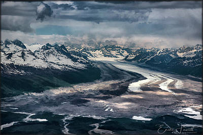 Photograph - Kahiltna Glacier by Erika Fawcett