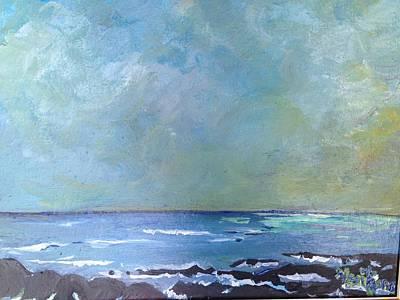 Kahului Bay, Maui Art Print