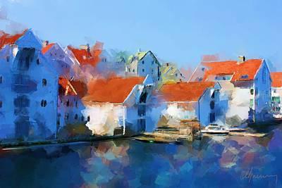 Kai Haugesund  Art Print by Michael Greenaway